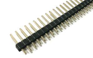 40 Pin male header Burge Strip Single Row / Double Row / L-type