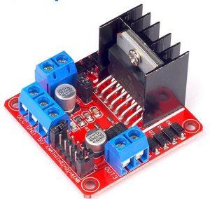 L298N DC Motor Driver Controller 2A Stepper Motor Board Module