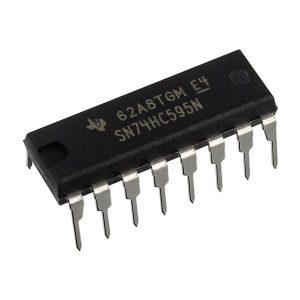 SN74HC595N, 8-Bit Shift Register ICs