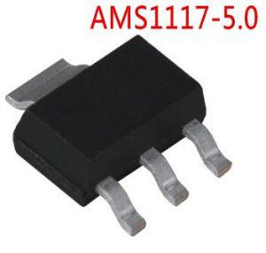 AMS1117-5.0V SOT-223 5V Fixed Linear Voltage Regulator (SMD)
