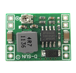 1584 Ultra-small size DC-DC step-down power supply module 3A adjustable