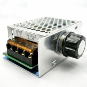 4000W 220V SCR Voltage Regulator Adjust Speed Control Dimmer Thermostat