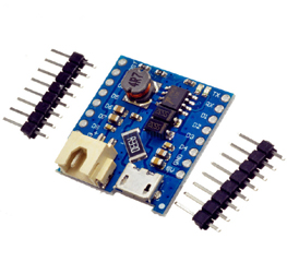 Battery Shield For WeMos D1 mini battery Charging and Boost