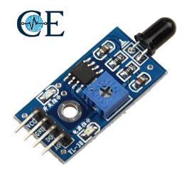 Flame Sensor Or Fire Ignition Sensor Module 4 pin