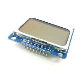 Nokia 5110 LCD Module White Back light Adapter for Arduino