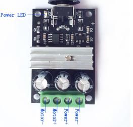 PWM dc 6v 12v 24v 28v 3a motor speed controlle