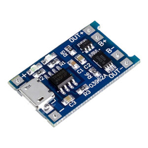 Lithium Battery Charging Board TP 4056 Micro USB with Protection