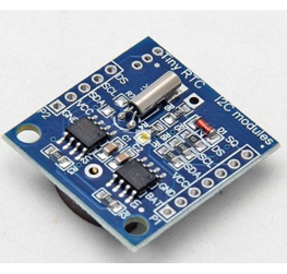 Real Time Clock DS1307 RTC I2C Module AT24C32 with CR2032 Coin Battery SMD Version