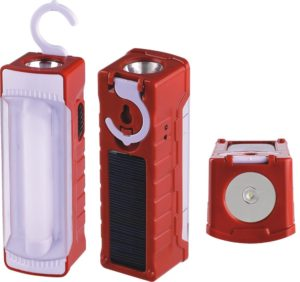 Emergency Solar power with hanging Clamp LED light