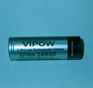 18650 Li- Ion Rechargeable Battery