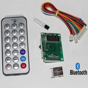 MP3 USB FM Bluetooth with Remote Circuit