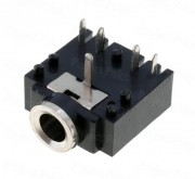 Stereo Jack Socket 3 Pin PCB Mount Female 3.5mm