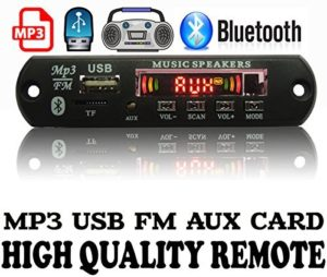 Bluetooth Stereo Audio Player with Remote FM MP3 USB
