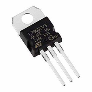 LM7805 Voltage Regulator IC 5V Fixed Output