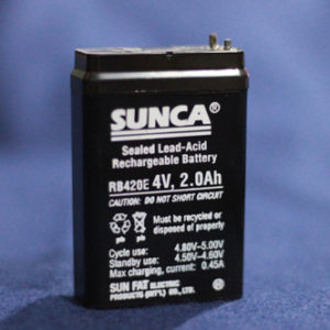 sunca 4V2Ah battery