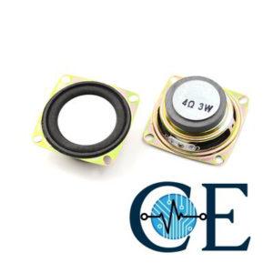 2″ Inch 3W Full Range Speaker  4ohm for Mini Stereo