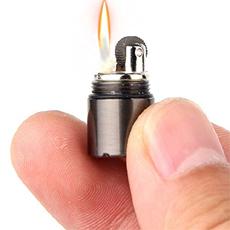 Compact Kerosene Lighter Key Chain Capsule Gasoline Lighter