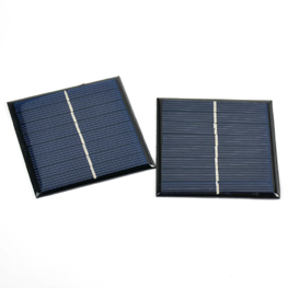 Solar Panel 7V 1W  Polycrystalline Silicon Epoxy