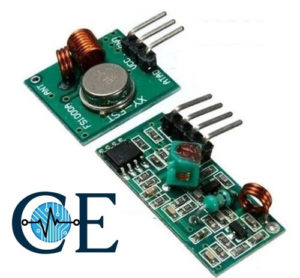 433MHz RF Wireless Module Receiver and Transmitter
