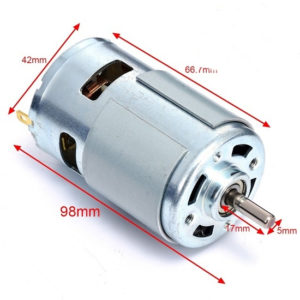 DC 12V Motor 775 High RPM Torque With Bearing