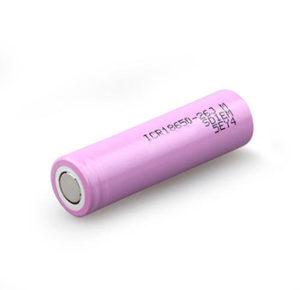 Li-Ion Rechargeable Battery ICR 18650-26J 2600MAH