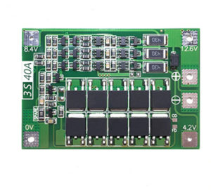 3S 40A Balance Charging 12.6V 18650 lithium battery BMS Board