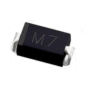 M7 1N4007 SMD 1A 1000V IN4007 Rectifier Diode