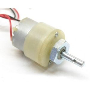Geared Motor DC , 12V, Center Shift 10- 500 RPM