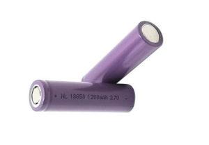 Li-Ion 18650 Rechargeable Battery 1200MAH