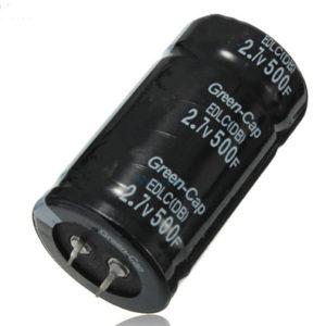 Super Capacitor 500F 2.7V