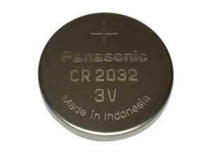 Panasonic CR2032 3V Lithium Coin Battery Original