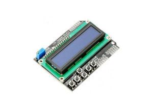 1602 LCD Shield with Keypad Blue Backlight