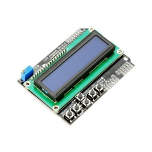 1602 LCD Shield with Keypad Blue Backlight