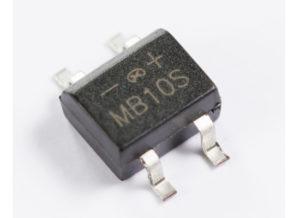 Bridge Rectifier MB10S 1000 V 0.5 A 5 uA Surface Mount
